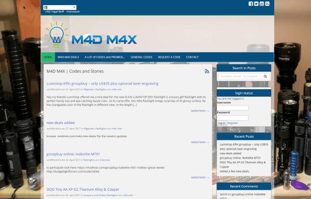 M4DM4X Website